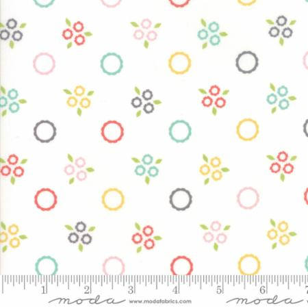 Fabric by the yard Flower Mill Corey Yoder Quilt Quilting Floral Sewing  Cotton Fabric Quilts baby shower gift nursery decor 29031 11