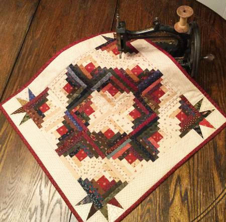 Log Cabin Quilt Pattern Cut Loose Press Creative Grids Quilting