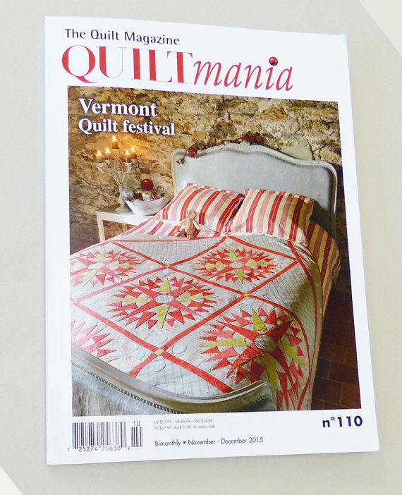 Magazine Quilt Embroidery patterns pattern quilts Sewing Hand Quilting Gift for her Rustic FREE SHIPPING