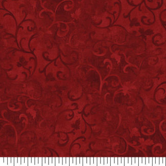 You Re Viewing Red Scroll Fabric By The Yard Quilt Cotton 89025 339 Quilting Scrolls Leaves Sewing Quilts 3 00 9