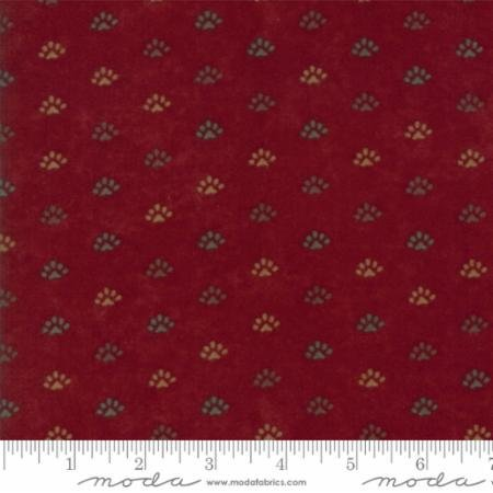 Flannel Red Fabric By The Yard Fall Decor Woodland Cabin Cotton Quilt Quilting Sewing Quilts 6743 16f