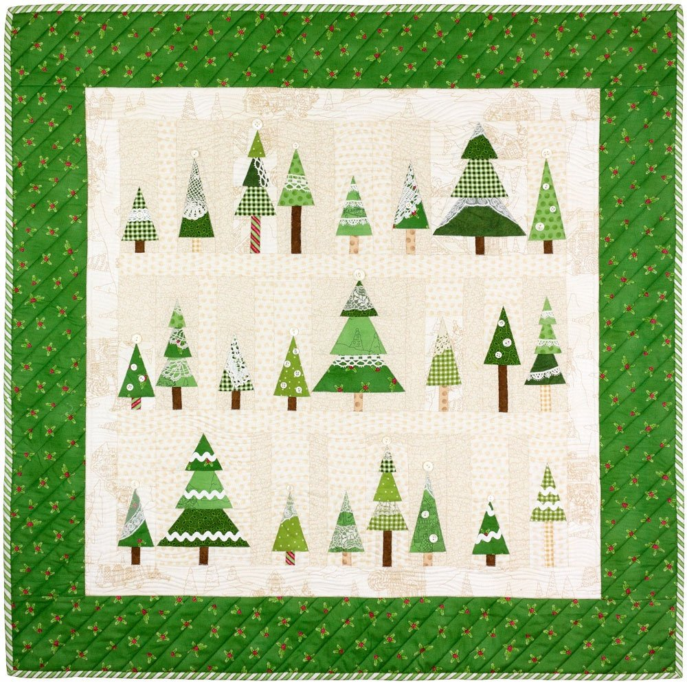 Frostys Tree Farm Christmas Quilt Pattern By Crabapple Hill Paper